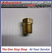 Blanking Plug 1/4 NPT Thread Brass - Fuel Oils Air